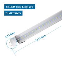 Wholesale led lights 54 bulb for sale - Group buy 100 pack LED T8 Tube ft m W LM Light Lamp Bulb feet V led lighting year warranty