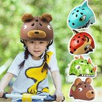 çocuk bisikletleri toptan satış-UltraLight Çocuklar Bisiklet Kaskları Çocuk Bisikleti Kask Şehir Yol Bisikleti Açık Spor Sürme PateniC3 Için Çocuk Başlığı