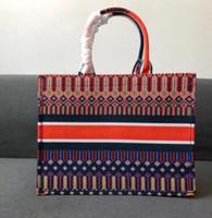 grandes totes de compras venda por atacado-2019 Novos sacos de Moda das Mulheres Totes Bolsa Bolsa Bolsas de Lona Totes Bolsa Grande Saco De Compras Com Frete Grátis