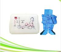 equipo de la máquina de adelgazamiento para la venta al por mayor-Presión de aire Presoterapia Drenaje linfático Desintoxicación Eliminación de grasa Bolsas de aire Máquina de drenaje linfático Venta caliente Presoterapia Equipo delgado