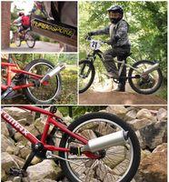 мотоциклы воздушные дудки оптовых-Ирландия Велосипед Air Horn Велосипед Турбина Мотоцикл Выхлопной Звук Велосипедный Ретранслятор с 6 Motorcard Sound Велоспорт DIY Аксессуары
