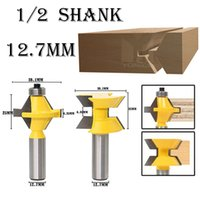 Wholesale drilling tools woodworking for sale - Group buy 120 Degree Miter Router Bit Inch Shank Woodworking Tenon Milling Cutter Tool Drilling Milling For Wood mm