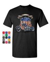 американская атлетика оптовых-Все американская гордость Маршрут 66 футболка байкер измельчитель ездить или умереть мужская футболка