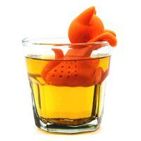 ingrosso teiere uniche-Guanti unici Forma Tea Strainer FDA Silicone Tea Infusore Filtro Teiera Teabags per Tè e Caffè Brewing Drinkware ZJ0069
