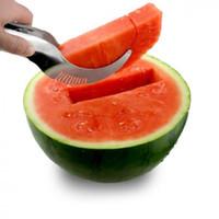spiralschneider freies verschiffen großhandel-Wassermelonenschneider Obstsplitter Obstwerkzeuge Making of Edelstahl Gesundheitssicherheit Praktisch und bequem versandkostenfrei