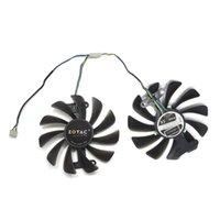 ventiladores de enfriamiento gpu al por mayor-95mm GFY09010E12SPA 4PIN GTX1070 / 1080 GPU Cooler Fan Reemplazar para Zotac GTX 1070 1080 AMP KFA2 GTX1070 Ti EX GTX 1080/1070 EXOC