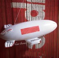 şişme beyaz toptan satış-FW17 Şişme Blimp Kutusu Logosu Kırmızı / Beyaz erkek aksesuarları için hava nakliyeci