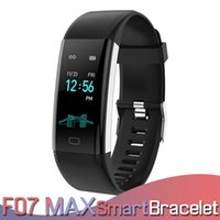 Wholesale cell phones for kids for sale - F07 Max Smart Band Bracelet Fitness Tracker Step Counter Blood Pressure Heart Rate Monitor Watch Band Strap for IOS Android Cell Phones