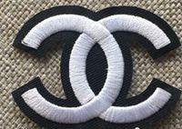 kleidung logopatches großhandel-10 stücke Gestickte Patches für Kleidung DIY Streifen Applique Kleidung Aufkleber Eisen auf Kreative Abzeichen nummer 5 luxus logo patches