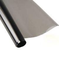 Wholesale car foil black resale online - 50cmx3m Car Window Tint Film Foils Solar Glass VLT Black Roll PLY Car Auto House Commercial Solar Protection