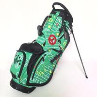 стенд гольф-клуб оптовых-Новые мужские сумки для гольфа Высокое качество сумка для клюшек для гольфа Gambler Golf Stand bag Бесплатная доставка