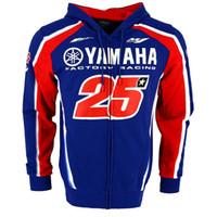 traje de carreras de jersey al por mayor-Moto GP con capucha del motocrós de la primavera y la chaqueta de la motocicleta que compite otoño Traje Jersey cremallera chaqueta con capucha 099