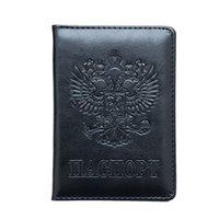 3d passporthalter großhandel-3D Prägung minimalistischen Passport Cover Designer Passinhabers für Travel Card Case Kreditkarteninhaber Bih077 Pm49