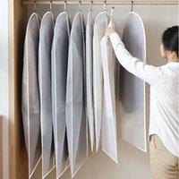 шкаф для одежды оптовых-Одежда пылезащитный чехол сумка висит одежда костюм пылезащитный чехол карман бытовой шкаф куртка чехол карман полупрозрачный