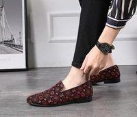 negócio de couro genuíno dos homens venda por atacado-Mocassins de couro genuíno dos homens de moda dedo apontado de Luxo homens formais Sapatos de Vestido de Negócios Slip-on homens sapatos de casamento W334