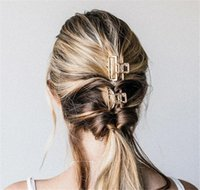 neue haare brötchenhersteller großhandel-Neue Haarnadeln Haarspangen für Frauen Metall Modern Stylish Claw Bun Maker Make Up Waschen Haar Styling-Tool
