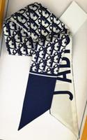klasik hediye poşetleri toptan satış-Kadınlar için sıcak çanta Ipek Bağbozumu Bantlar Kızlar Elatstic Saç Bantları Retro Türban Bandı sarar Hediyeler D Marka Tasarımcısı Ipek Eşarp