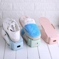 10pcs Durable Plastic Shoe Organizer Detached Double-Wide Shoe Storage Rack  Cleaning Shoebox Shoes Organizer Stand Shelf 67348bcc5136