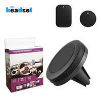 Wholesale magnetic phone holders for cars for sale – best Magnetic Phone Holder For Phone In Car Air Vent Mount Universal Mobile Smartphone Stand Magnet Support Cell Holder