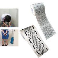 Wholesale funny bathroom decor resale online - 1PC Creative Funny Floors Bath Toilet Roll Paper Supplies Decor Tissue leaves Roll layers Bathroom Cleaning Tools H5