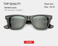 modelos femininos modelagem óculos de sol venda por atacado-Marca óculos de sol modelo rd2140 para as mulheres homem com real UV400 lentes de óculos de sol do sexo feminino feminino Shades culos de sol com todos os pacotes de qualidade superior