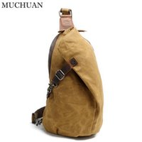 Wholesale waxing tables for sale - Group buy MUCHUAN No K Lastest fashion Men s outdoor high quality waxed dryed canvas travelling bag L L