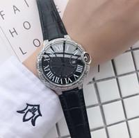 ingrosso incisione su diamanti-2019 Super Hot Luxury Watches Mens incide Argento Acciaio Orologi Diamond Orologio da polso Uomo Bracciale Orologi Orologi da uomo di lusso
