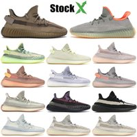 Wholesale cycling burgundy for sale - Group buy Earth Desert Sage Kanye West M Black Reflective Static Cinder Yechiel Clay Tail Marsh Glow Bred Cream Running Shoes Designer Sneakers