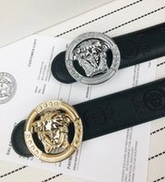 Wholesale women s leather belts without buckles for sale - Group buy Brand new High Qualtiy Mens Woman Brand Belts Alloy Smooth Buckle high qualtiy Genuine Leather Belts For women Waist Belt Without Box A