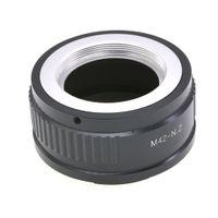 Wholesale z7 resale online - Aluminum Alloy Lens Mount Adapter M42 NZ Adapter Ring For Z Mount Z6 Z7 Camera Digital Camera Repair Part