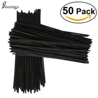 Wholesale rattan sticks for sale - Group buy 50 Black Rattan Reed Fragrance Diffuser Replacement Refill Sticks mm MM