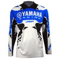 Wholesale jersey bmx for sale - Group buy New Moto GP for YAMAHA Motocross Jersey Mountain Honda Motocross Jersey BMX DH MTB perspiration YAMAHA T Shirt DDF