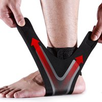 Wholesale red light magic for sale - Group buy Portable Light Ankle Support Protector Outdoor Sports Two Way Magic Tape Breathable Comfortable Ankle Support Sports Safety