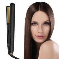 Wholesale hot tools straightening iron resale online - Hot sell V Gold Max Hair Straightener Classic Professional styler Fast Hair Straightening Iron Hair Styling tool With Retail Box