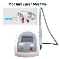 татуировка акне оптовых-Лазерное удаление татуировки машины с длинным импульсом Nd YAG Laser PicoSure Acne Treatment профессиональные машины для лазерного удаления