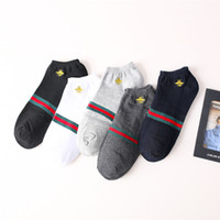 calcetines de las mujeres coreanas al por mayor-Diseñador de la mujer Japonesa y coreana. Nuevos productos de algodón. Moda para hombres. Bote casual bajo para ayudar a la marea baja. Calcetines deportivos.