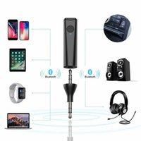 mp3 satılık ücretsiz gönderim toptan satış-Hands-free Bluetooth Araç Kiti MP3 Çalar FM Verici USB Araç Şarj 2019 Accesorios de coche Sıcak Satış Bırakma Nakliye # N