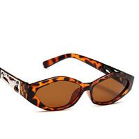 многоцветные девушки солнцезащитные очки оптовых-AVH12 Multicolor Мопсы Стиль Leopard солнцезащитные очки Женские Ladies девушки Street очки Очаровательная Hippy BOTERN EYEWEAR БЕСПЛАТНАЯ доставка по всему миру Город