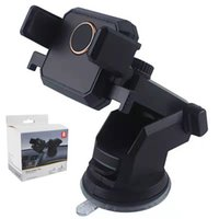 Wholesale windshield mount phone holder online – Car Mount Phone Holders Degree Rotation Suction Adjustable Window Windshield Dashboard Suck Stands For GPS Mobile Cell Phones Smartphone