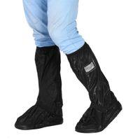 ingrosso copertura nera del motociclo-Motorino del motociclo bike impermeabile pattini antisdrucciolevoli Cover per Pioggia Neve Black Day L PVC materiale adottato foldabl