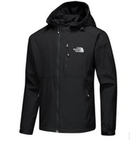 cara do revestimento dos homens venda por atacado-New mens designer jaquetas manga longa blusão windrunner homens zipper jaqueta à prova d 'água rosto norte hoodies casacos de roupas