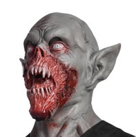 Wholesale toy zombies resale online - 2019 New Masquerade Ball Costume Zombie Demon Latex Scary Vampire Skull Mask Horror Cosplay Soft Toys