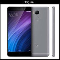 xiaomi 4g toptan satış-Küresel Sürüm Orijinal Xiaomi Redmi 4 Pro 5 inç 3G RAM 32G ROM Snapdragon 430 Sekiz Çekirdekli 1280x720 4100 mAh 13.0MP 4g Lte Telefon