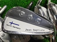 Wholesale saint germain resale online - Playwell Jean Baptiste Saint Germain silver finished golf iron head forged carbon steel CNC iron wood iron