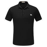 camisas de polo slim fit para hombre al por mayor-2019 nuevos hombres camisas de polo Slim Fit Polos para hombre Moda Polo informal Medusa serpiente abeja bordado Poloshirt de negocios