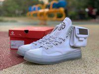 Wholesale breathable mens dress shoes resale online - 2020 New Mens fashion designer luxury Espadrille shoe off star women dress shoes sneakers white platform men golden sneaker safety loafers