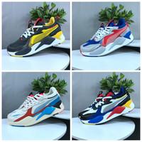 zapatos de tenis de calidad al por mayor-Puma rs Pumas Rs-x 2019 Nueva alta calidad RS-X reinvención juguetes para hombre zapatillas de diseñador de la marca hombres Hasbro Transformers Casual para mujer rs x zapatillas de deporte tamaño