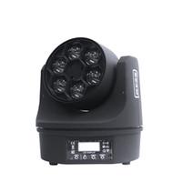 dmx china großhandel-Qualität dmx rgb bewegliches Minikopflicht 6 * 10w Strahlwäschedisco-Lichtstadiumslicht China-Lieferant