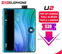 Wholesale elephone phone online – custom Elephone U2 MP Pop Up Camera Mobile phone Android MT6771T Octa Core GB G quot FHD Screen Face ID G LTE Smartphone