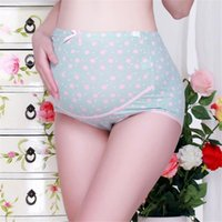 698548508b L-XXL Pregnancy Maternity Clothes Cotton Women Pregnant Dot Underwear  Panties Seamless Soft Care Underwear Clothes S14 FN